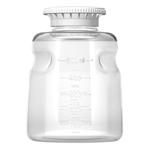 Autofil Reservoir Bottle and Cap, 500mL, Polystyrene, Sterile, case/24