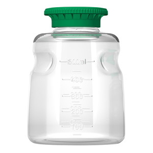 Autofil Reservoir Bottle and Cap, 500mL, PETG, Sterile, case/24