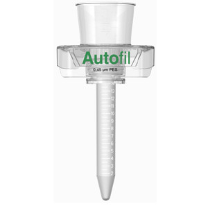 Centrifuge Funnel Only, 15mL, 0.45um PES, Autofil, case/24