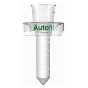 Centrifuge Funnel Only, 50mL, 0.2um PES, Autofil, case/24