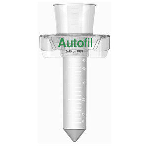 Centrifuge Funnel Only, 50mL, 0.45um PES, Autofil, case/24