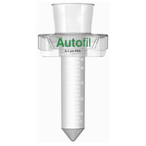 Centrifuge Funnel for Vacuum Filter, 50mL, 0.1um PES, Autofil, case/24
