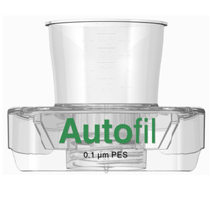 Centrifuge Funnel Only, 50mL, 0.1um PES, Autofil, case/48