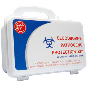 Bloodborne Pathogens Protection Kit, case/10