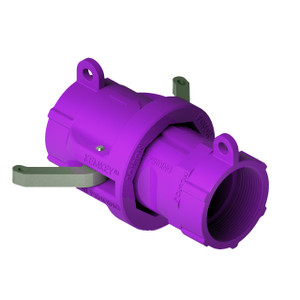 """2"""" NPT Chemical Safety Coupling Only (Male/ Female ends) For Poisons"""