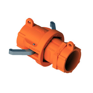 """2"""" NPT Chemical Safety Coupling Only (Male/ Female ends) For Acids"""
