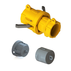 """2"""" NPT KemKey Chemical Safety Coupling  Kit (includes Cap and Plug), For Oxidizers"""