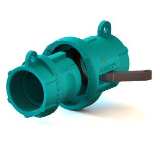 """2"""" NPT Chemical Safety Coupling Only (Male/ Female ends) Non-Hazardous"""