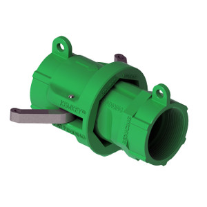"""2"""" NPT Chemical Safety Coupling Only (Male/ Female ends) For Reducers"""