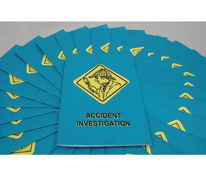 MARCOM Accident Investigation Booklet, pack/15
