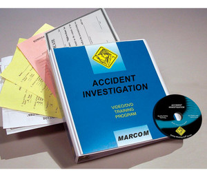 Safety Training: Accidental Release Measures & Spill Cleanup Procedures DVD Program