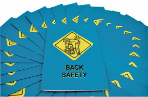 MARCOM Back Safety Employee Booklet, pack/15