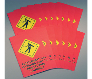 Safety Training: Electrocution Hazards Part I: Protecting Yourself (Booklet)