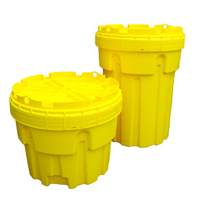 UltraTech 0585 Overpack Plus Drum Containment, 30 gallon, Yellow