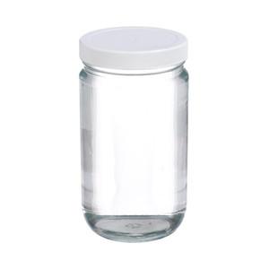 Certified Clean 32oz Clear Glass Sample Jar, case/12