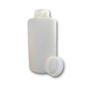 Certified Clean 2L, Wide Mouth HDPE, Sample Bottle, case/8