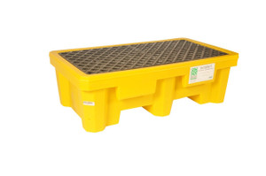 UltraTech 1010 Spill Pallet P2, No Drain, Yellow