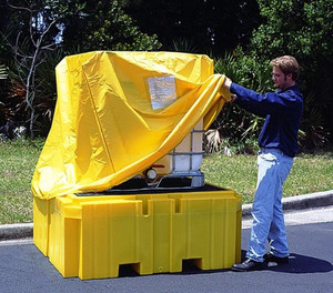 UltraTech 1055 IBC Spill Pallet - Pullover Cover