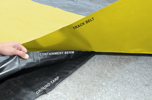 Containment Berm Ground Tarp 19' x 70': For all 15' x 66