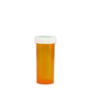 Amber Pharmacy Vials, Child Resistant Caps, 16 dram (60cc), case/270