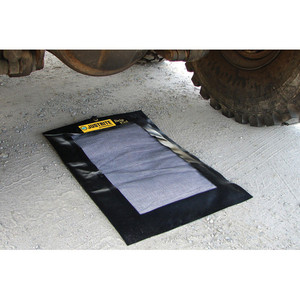 """Justrite 28459 Drip Pad, Extended Size 24""""X36"""""""