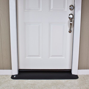 "Threshold Wheelchair Ramp, EZ-Edge, 3/4"" High, Choose Single or Double Door"