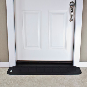 "Threshold Wheelchair Ramp, EZ-Edge, 1"", Choose Single or Double Door"