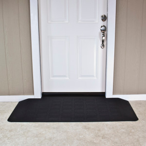 "Threshold Wheelchair Ramp, EZ-Edge, 2"" High, Choose Single or Double Door"