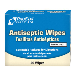 Antiseptic Wipes, 24 boxes of 20