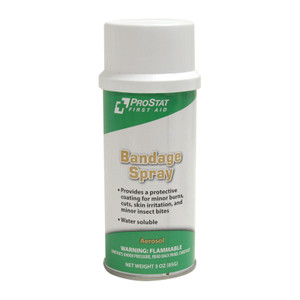 Spray-On Bandage Protective Coating 3oz Aerosol Can, case/12