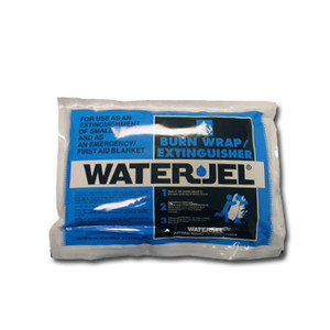 Water Jel Burn Wrap Fire Extinguisher Blanket, 3' x 2.5', case/4