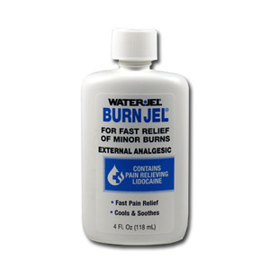 Water Jel Burn Gel 4oz bottles, case/24