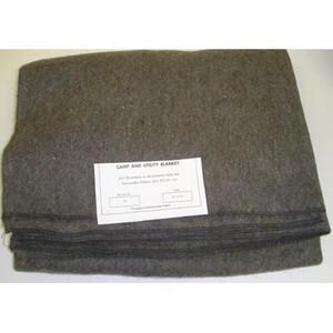 """Fire Blanket, Wool, 66"""" x 80"""""""