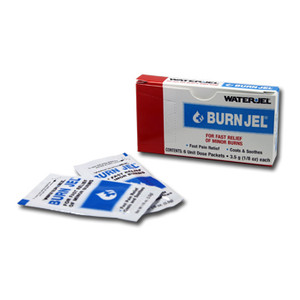 Burn Relief Gel, 0.9g, Individual Foil Packets, 36 boxes of 25