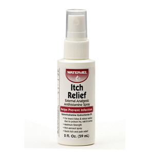 Itch Relief topical spray, 2oz Pump Spray, case/24