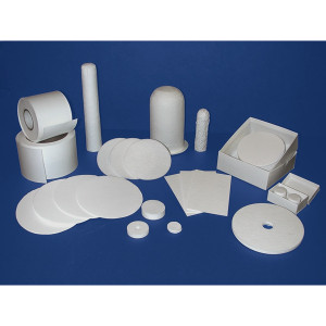 Binderless Glass Microfiber Filter Media, Grade F, pack/100