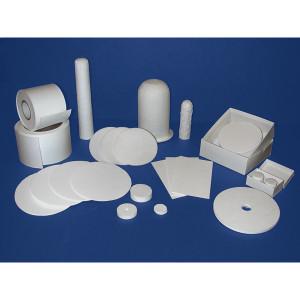 Binderless Glass Microfiber Filter Media, Grade A-E, pack/100