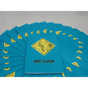 MARCOM Arc Flash Safety Training Employee Booklet, pack/15