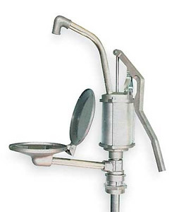 Action 3008-DT Aluminum Lever Action Hand Drum Pump with Drip Tray