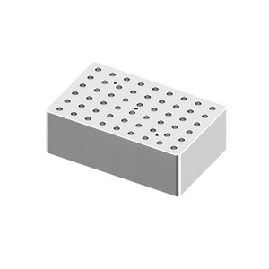 Heating Block, 0.2mL tubes, 54 holes, for Scilogex Digital Dry-Bath HB120-S