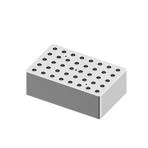 Heating Block, 0.5mL tubes, 40 holes, for Scilogex Digital Dry-Bath HB120-S