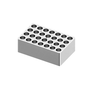 Heating Block, 5/15mL tubes, 28 holes, for Scilogex Digital Dry-Bath HB120-S