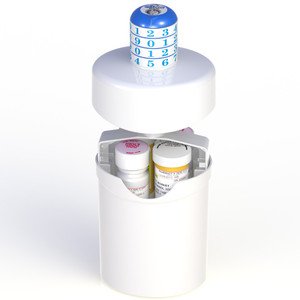 Prescription Safety Combination Lock Box for Drugs and Medication