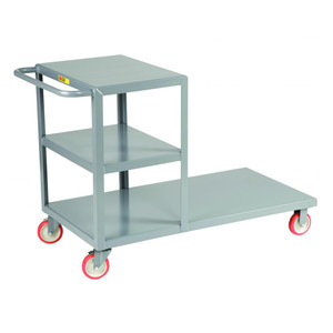 Combination Shelf and Platform Truck