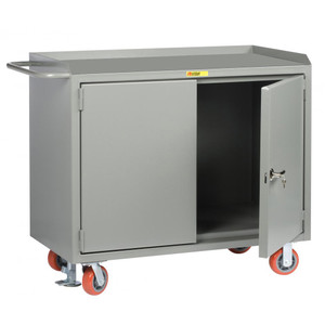 "Little Giant 24"" x 48"" Mobile Safety Cabinet with Locking Doors"