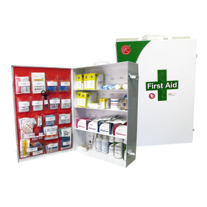 ANSI Class B First Aid Cabinet with Supplies