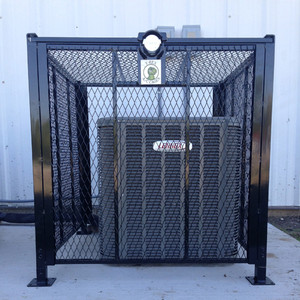 AC Cage, T -Rex 3' x 3' Bolt Down Air Conditioner Protection