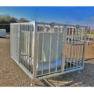 AC Cage, T -Rex 6' x 9' Roof Top Air Conditioner Protection