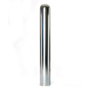 Galvanized Steel Bollard, Threaded Base and Size Options