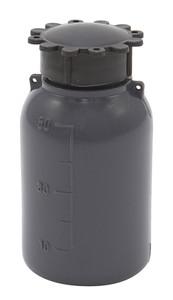 Lockable (Tamper Evident) Security Bottles, Graduated, LDPE, 50mL, case/50
